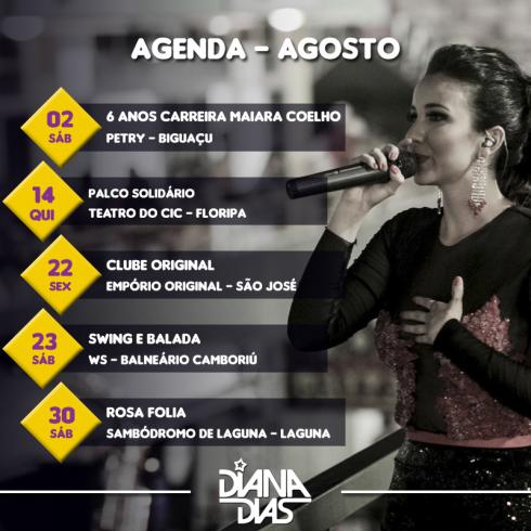 Agenda - agosto